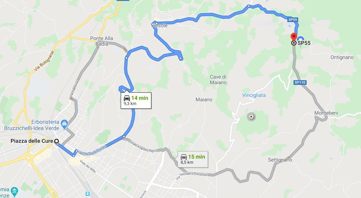 Cattura mappa